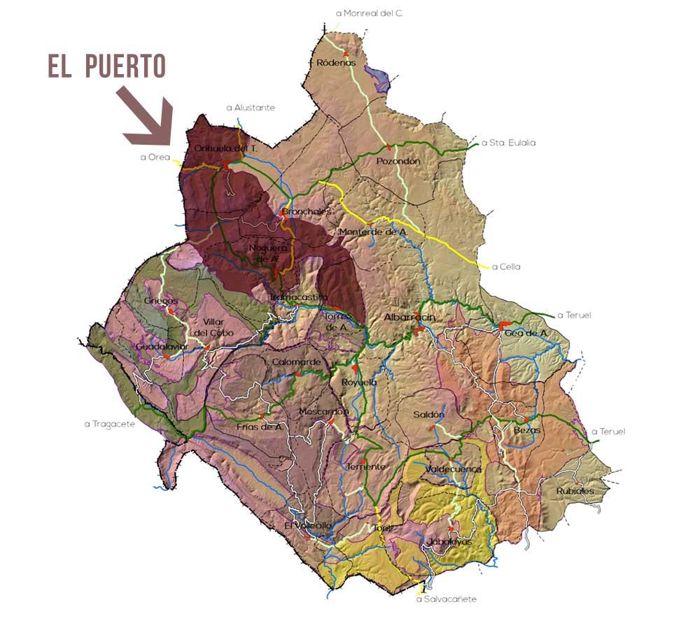 Plano en el parque Micológico de la Sierra Albarracin - Zona Puerto