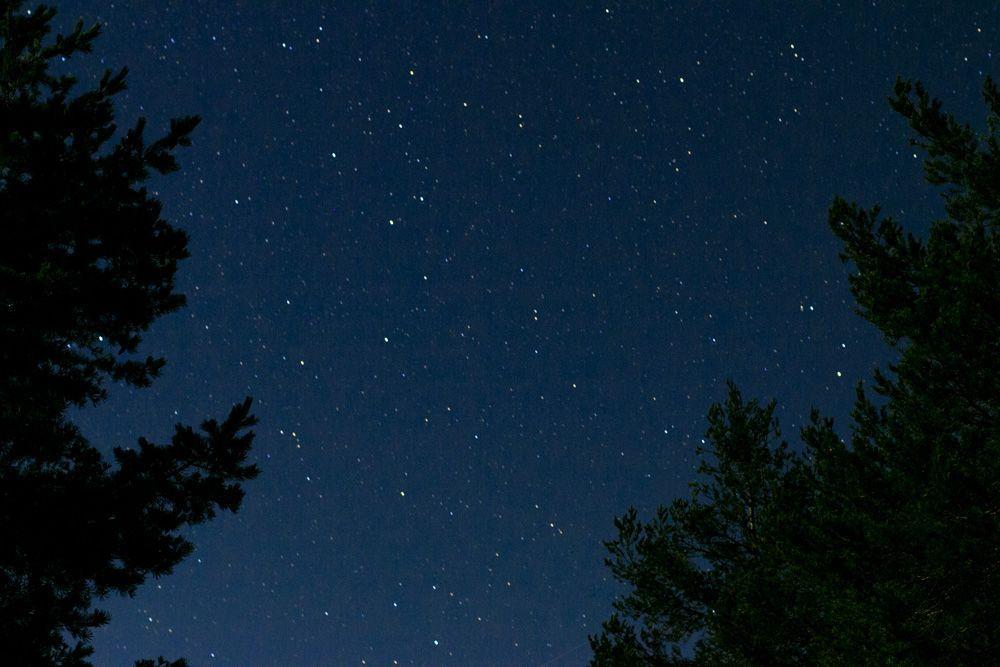 Fotografía de las estrellas en Albarracin