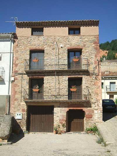 Imagen del Alojamiento rural Las Carcavas en Noguera de Albarracin