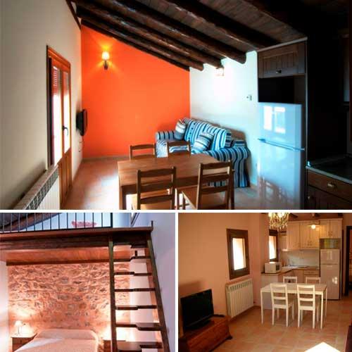 Fotografias de los Apartamentos Cine Capicol en Albarracin