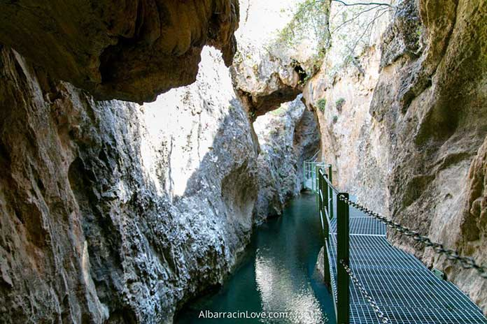 Ruta del Barranco de la Hoz – Calomarde a través del Cañon del Río Blanco. VIDEO + POST + MAPA