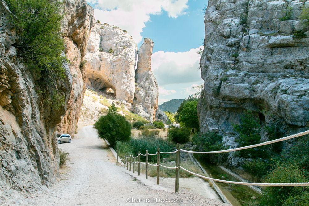 Fotografia del Barranco de la Hoz en Calomarde
