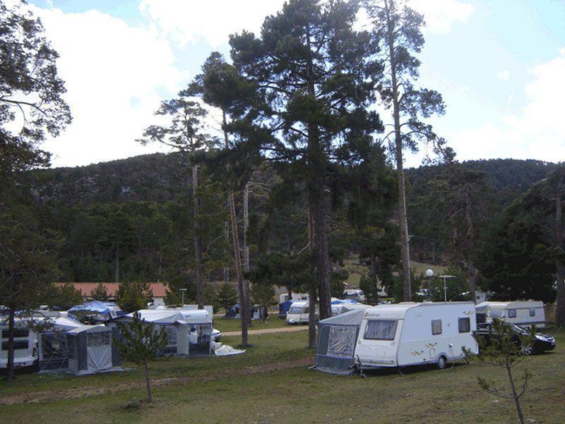 Camping Algarbe Albarracin, Teruel, Aragón, España