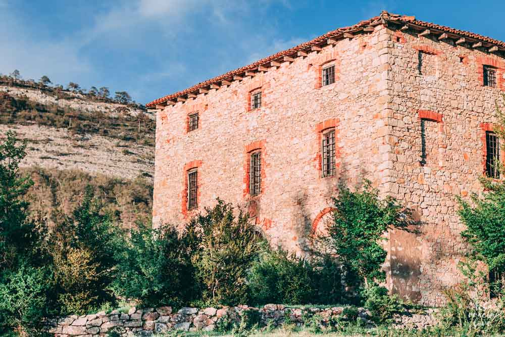 Fotografía de la casa donde veraneaba Blanca Catalan de Ocon