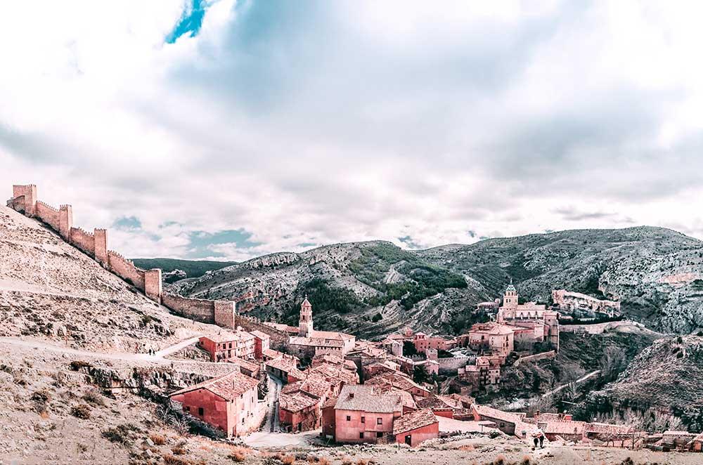 Foto de casas y calles históricas de Albarracin