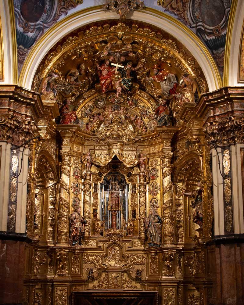 Fotografía del Altar Virgen del Pilar