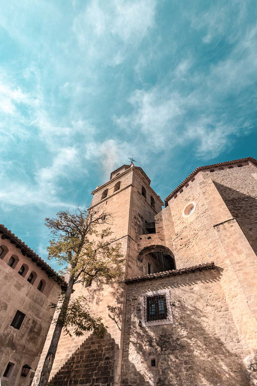 Fotografia de la Catedral gestionada por la Fundación Santa Maria de Albarracin