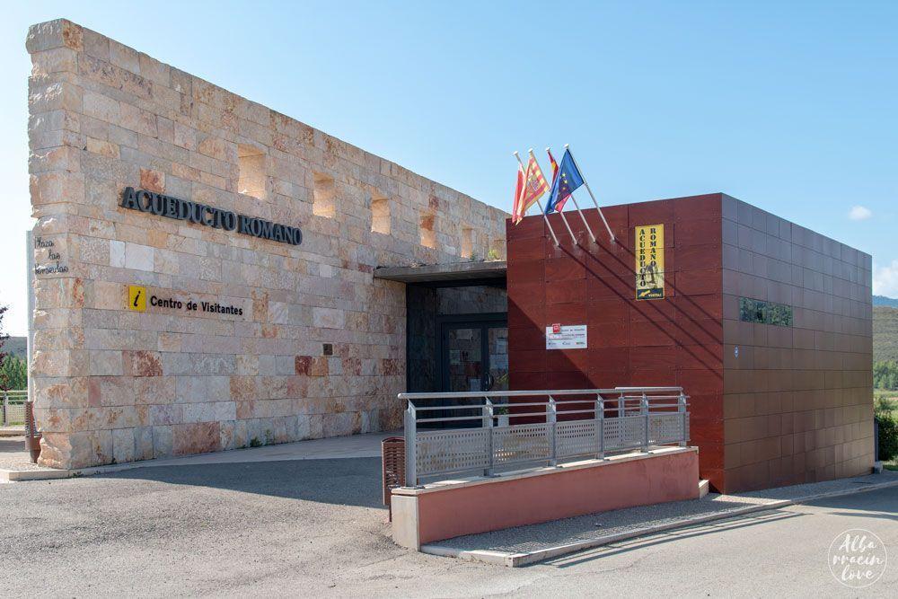 Fotografía del exterior del centro de Interpretación de Gea