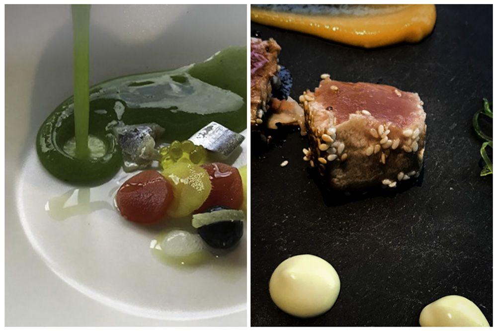 Fotografía de una experiencia gastronomica en el batan