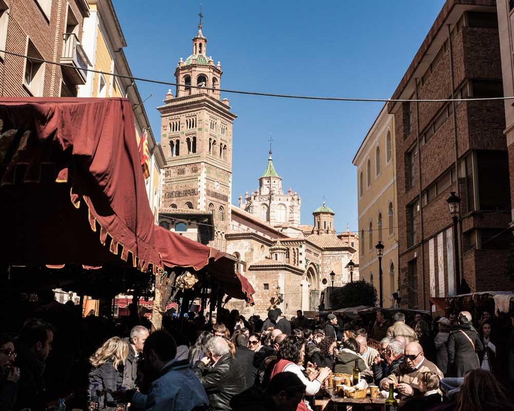 Imagen de las Fiestas de los Amantes de Teruel o Medievales.