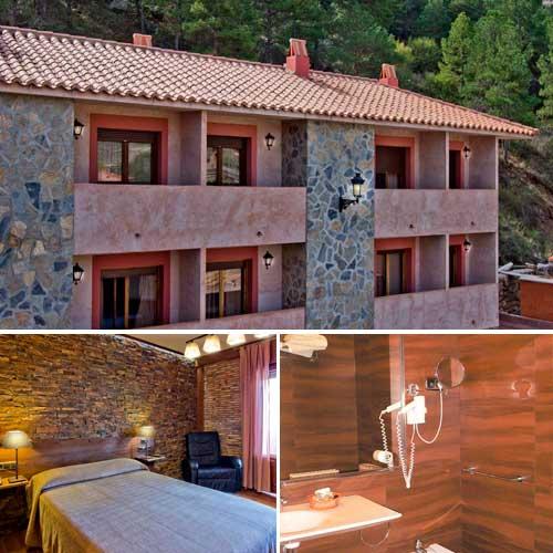 Imagen del Hotel Doña Blanca de Albarracin en Teruel