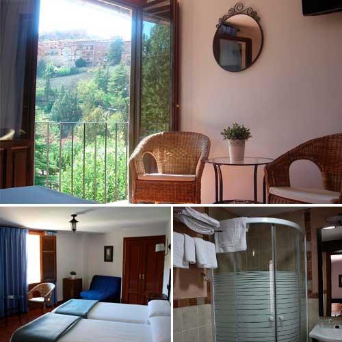Imagen del hotel meson del gallo en Albarracín