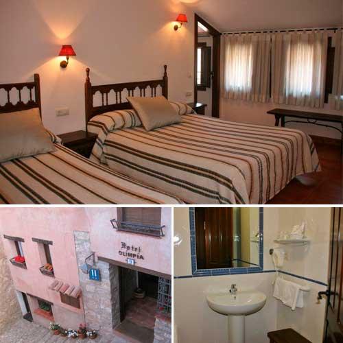 Fotografia de hoteles en albarracín