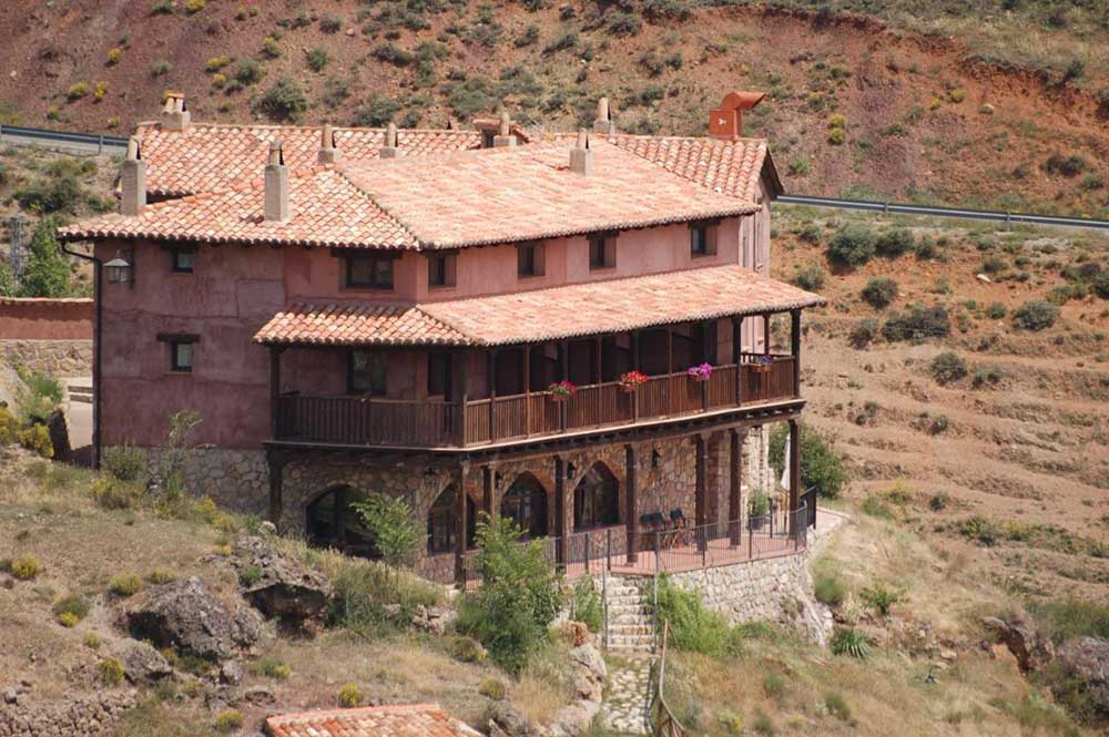 Imagen de la Posada de Santa Ana, en Tramacastilla, Sierra de Albarracin