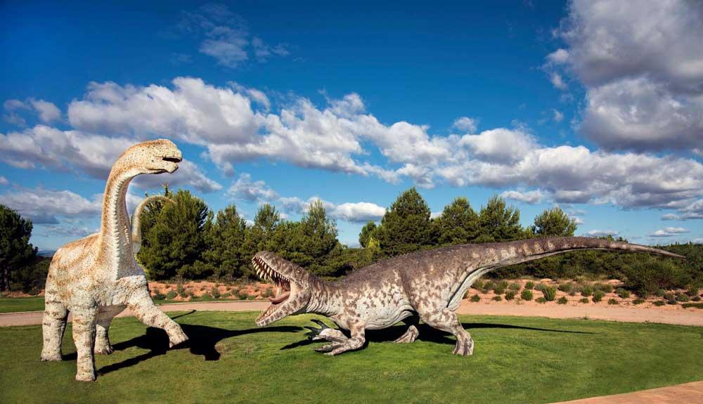 Fotografía de Dinopolis, el museo paleontógico de Teruel
