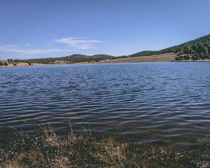 Fotografía de la laguna de Bezas