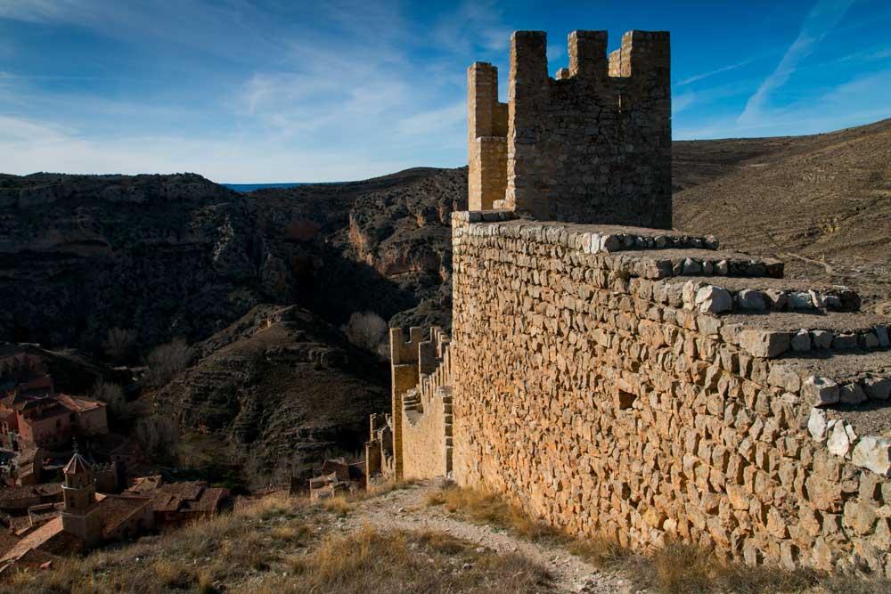 Fotografia de las Murallas Medievales de Albarracin