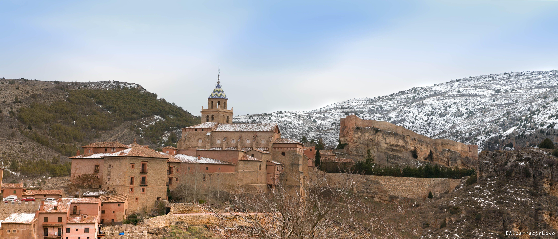 Imagen de las Murallas y el Castillo de Albarracin