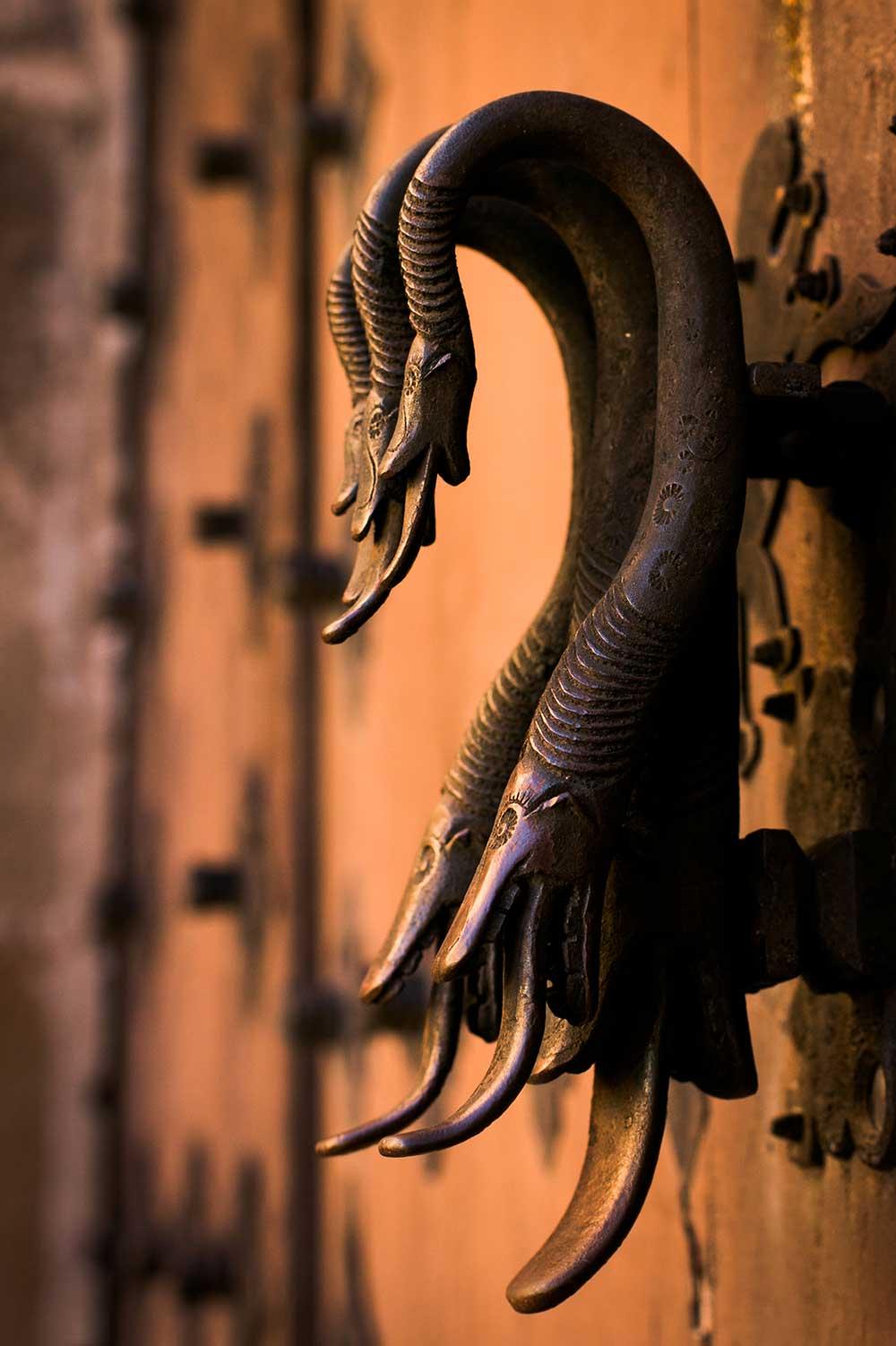 Imagen del Picaporte de la Casa de los Monterde de Albarracín