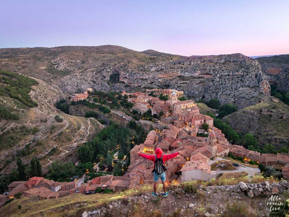 Fotografía de las Vistas desde las Murallas de Albarracín