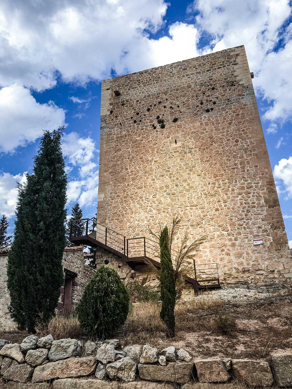 Imagen de la Torre de Doña Blanca en Albarracín
