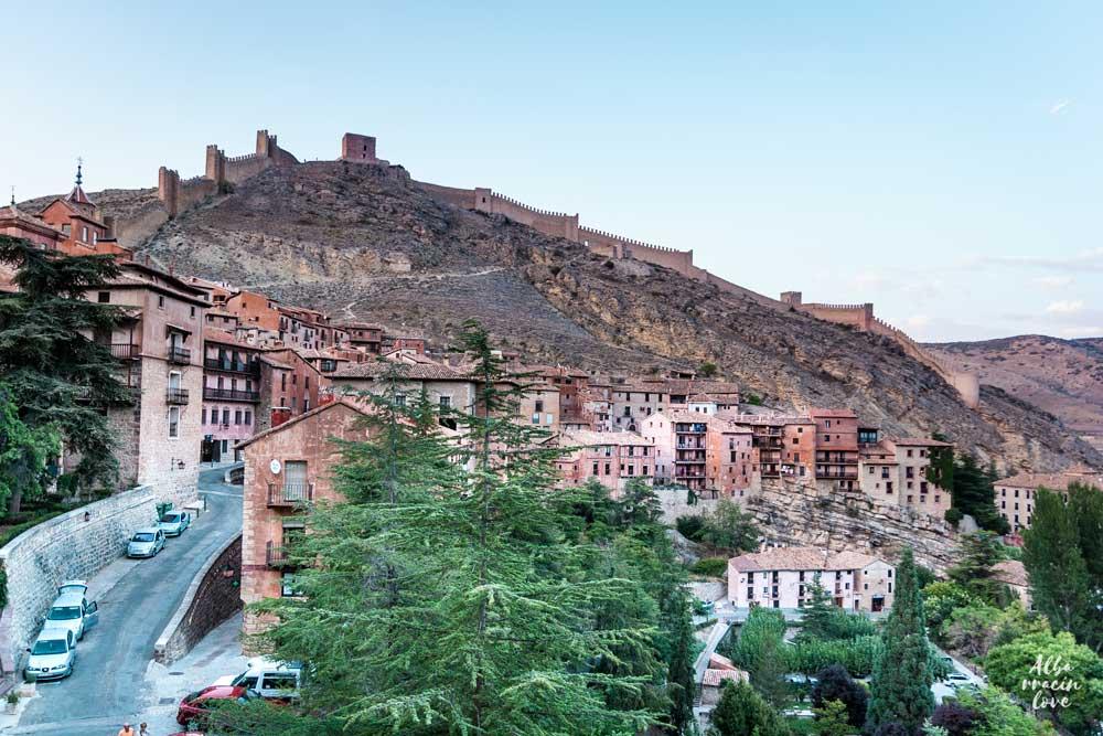 Que ver en Albarracin en un fin de semana: Las murallas de Albarracin