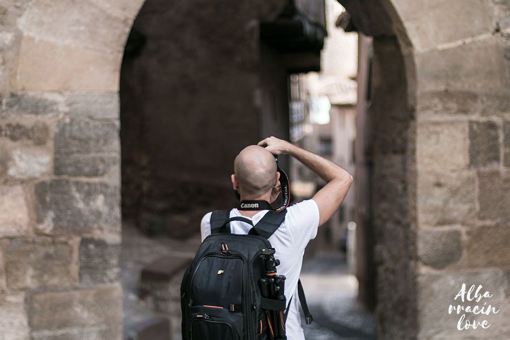 Fotografía de las visitas guiadas de Albarracin