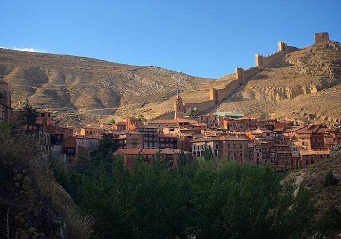 Imagen de Albarracín desde un punto de vista diferente